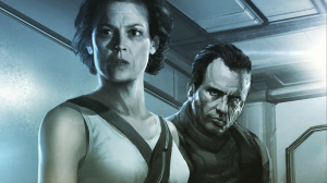 Concept art shows Ripley and Hicks in Neill Blomkamp's Alien sequel