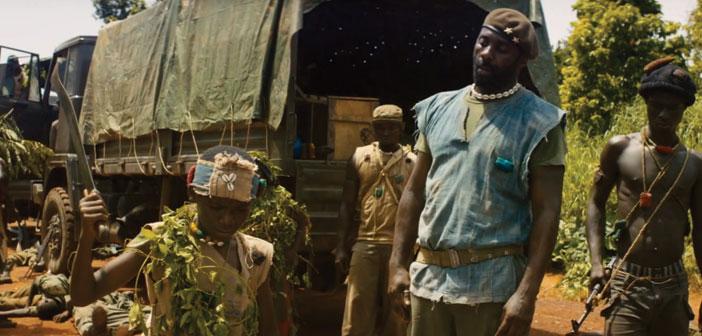 (l to r) Abraham Attah, Idris Elba