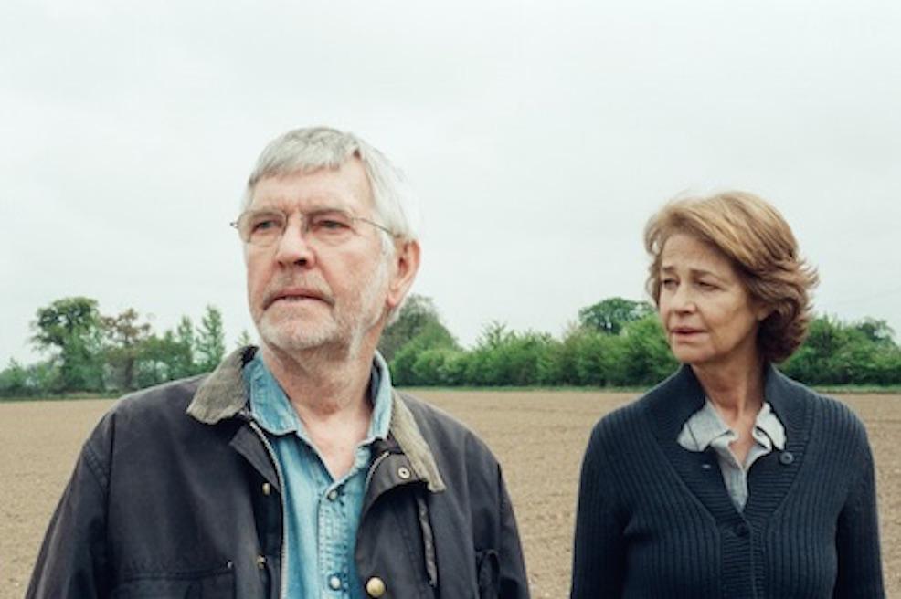 Tom Courtenay, Charlotte Rampling. Courtesy of Agatha A. Nitecka. © 45 Years Films Ltd. A Sundance Selects Release.