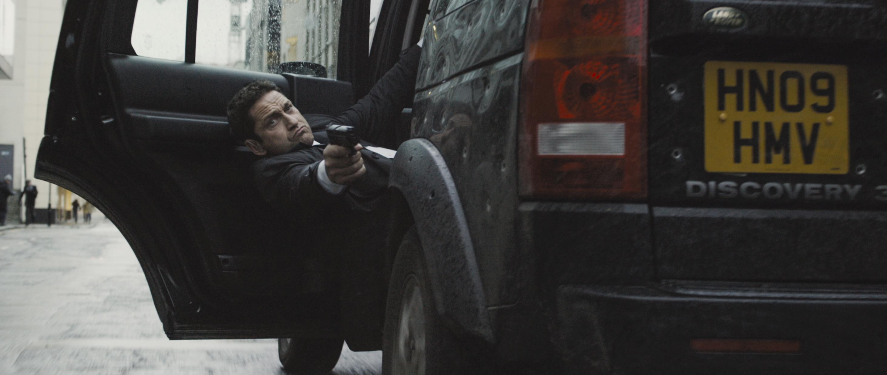 """Gerard Butler in """"London Has Fallen."""" Credit: Gramercy Pictures."""