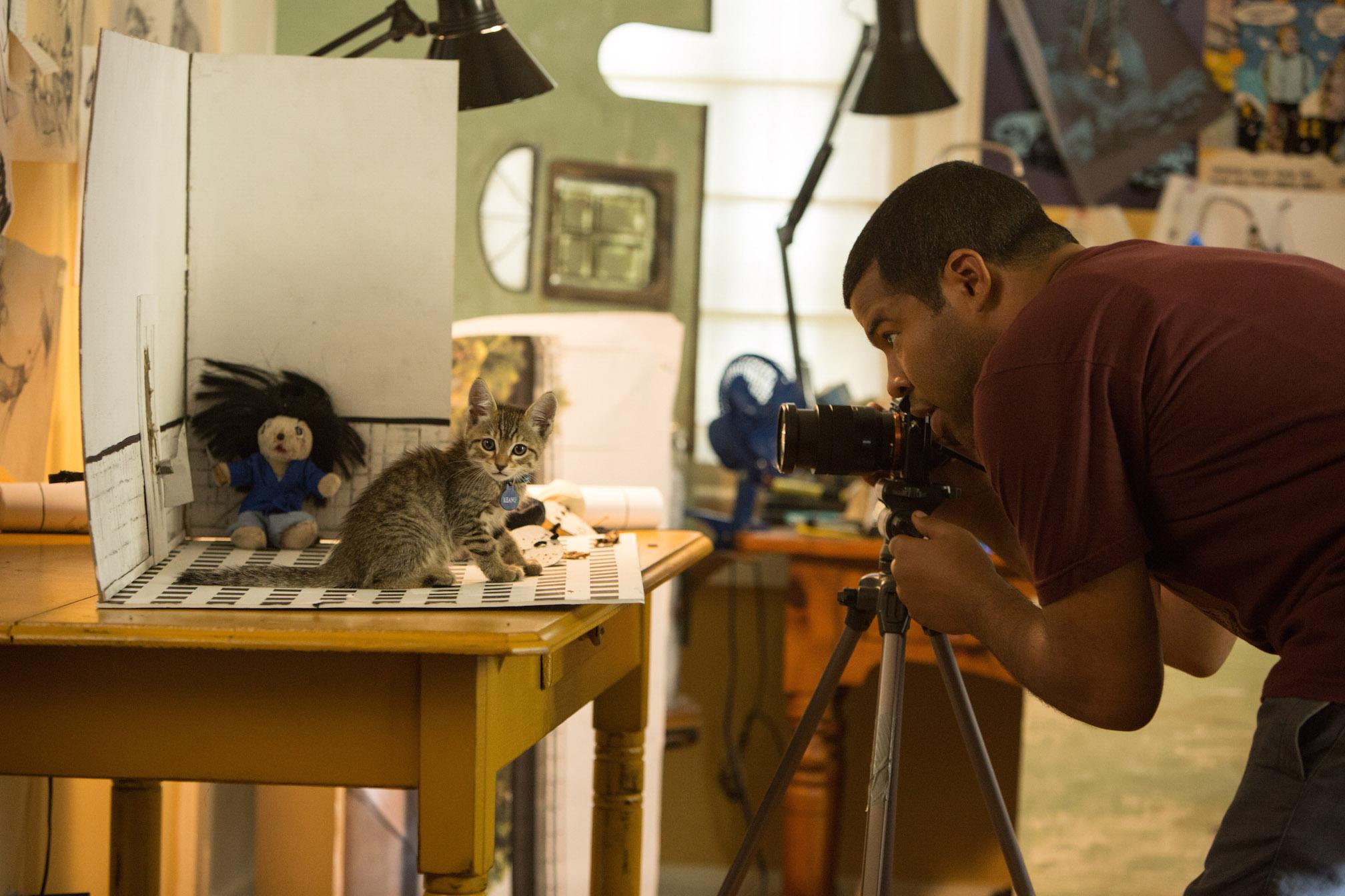 "JORDAN PEELE as Rell Williams in ""KEANU,"" a Warner Bros. Pictures release. Photo by Steve Dietl"