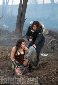 Gal Gadot and Director Patty Jenkins