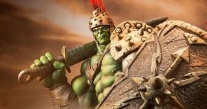 Hulk in Gladiator armor
