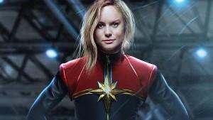 Brie Larson as Captain Marvel, image by Boss Logic