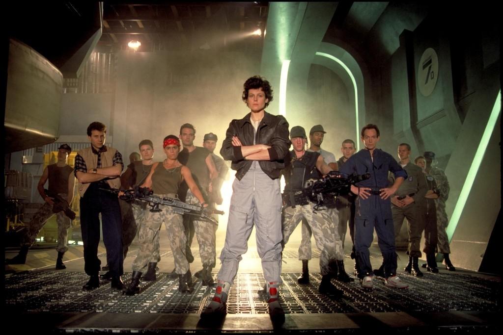 The cast of Aliens (1986, Fox)