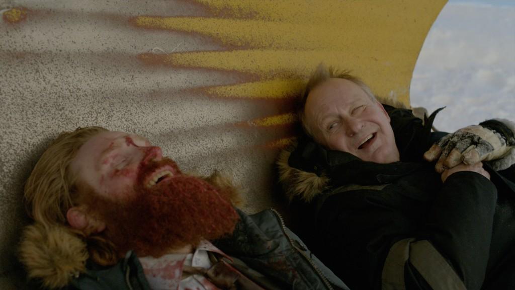 "(l-r:) Kristofer Hivju, Stellan Skarsgård in ""In Order of Disappearance,"" a Magnet Release. Photo courtesy of Magnet Releasing."