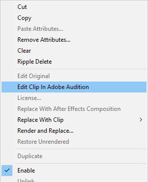 Edit in Adobe Audition
