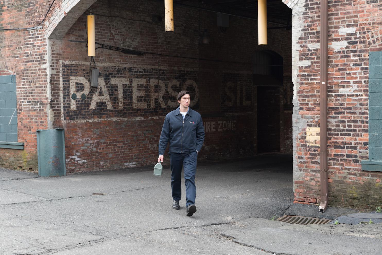 "Adam Driver as Paterson in ""Paterson."" Credit: Mary Cybulski/Amazon Studios & Bleeker Street © 2016 Amazon Studios & Bleecker Street"