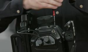 Easy swap lens mounts change in seconds.