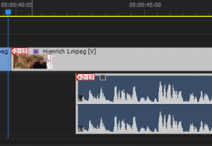 Audio Prior to Slip