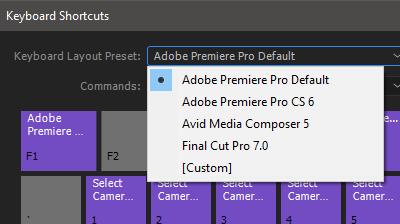 Keyboard Preset Options
