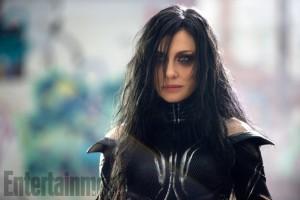 Cate Blanchett as Hela in Thor: Ragnarok