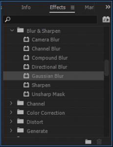 Blur Options