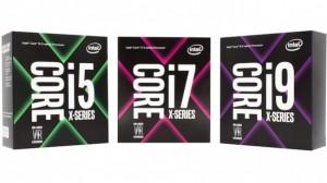 Aug 2017 Intel Core i5 i7 i9