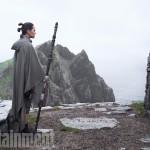 Star Wars: The Last JediL to R: Rey (Daisy Ridley) and Luke Skywalker (Mark Hamill)Credit: Jonathan Olley/ILM/© 2017 Lucasfilm Ltd.