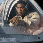 Star Wars: The Last JediFinn (John Boyega) in a Ski Speeder on Crait